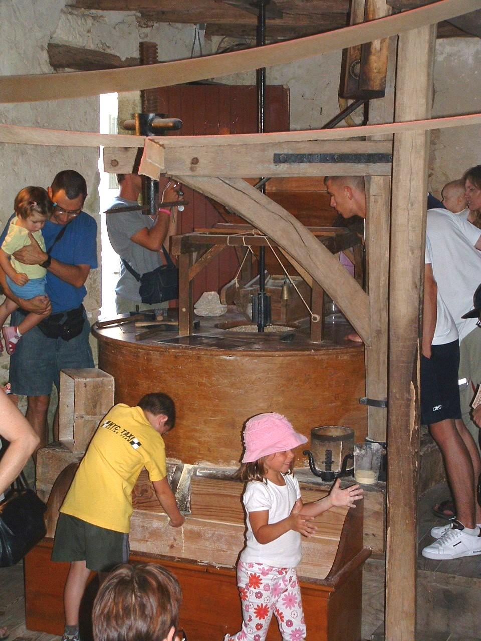 intérieur moulin